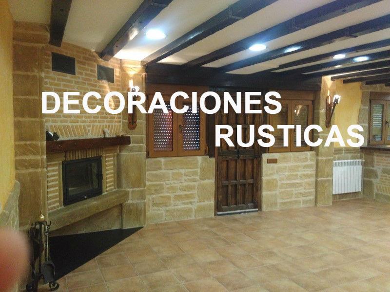 Decoracion rustica sobre - Bodegas rusticas decoracion ...